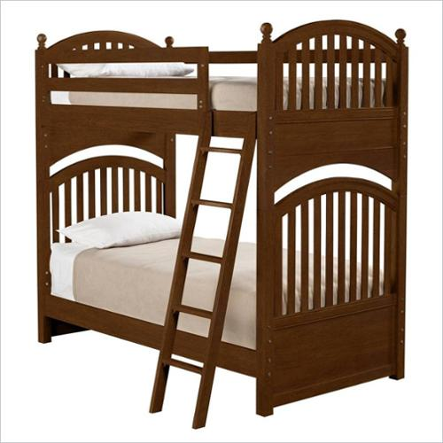 Young America All Seasons Twin Over Twin Bunk Bed Espresso
