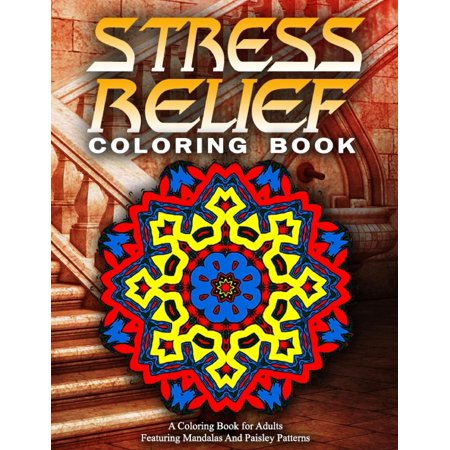 Stress Relief Coloring Book Vol17 Adult Books Best Sellers For Women