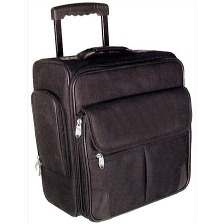 World Traveler RT5161 15 in. Deluxe Flight Carry-On Computer Case Office-On-Wheels,
