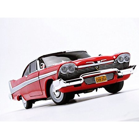 Autoworld AWSS102 1958 Plymouth Fury Christine Night Time Version 1-18 Diecast Model Car - image 1 of 5