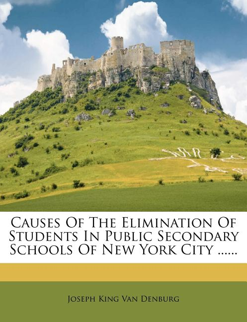 Causes Of The Elimination Of Students In Public Secondary