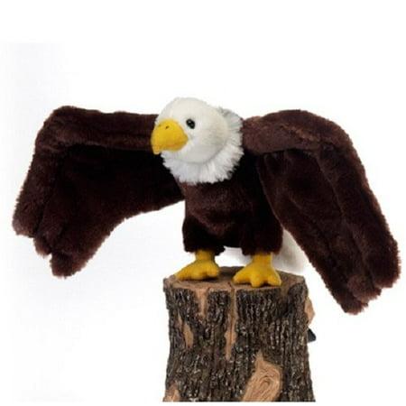 "Fiesta Toys A36039D Bald Eagle Bird Stuffed Animal Plush Toy, 9"", Brown/White - image 1 of 1"