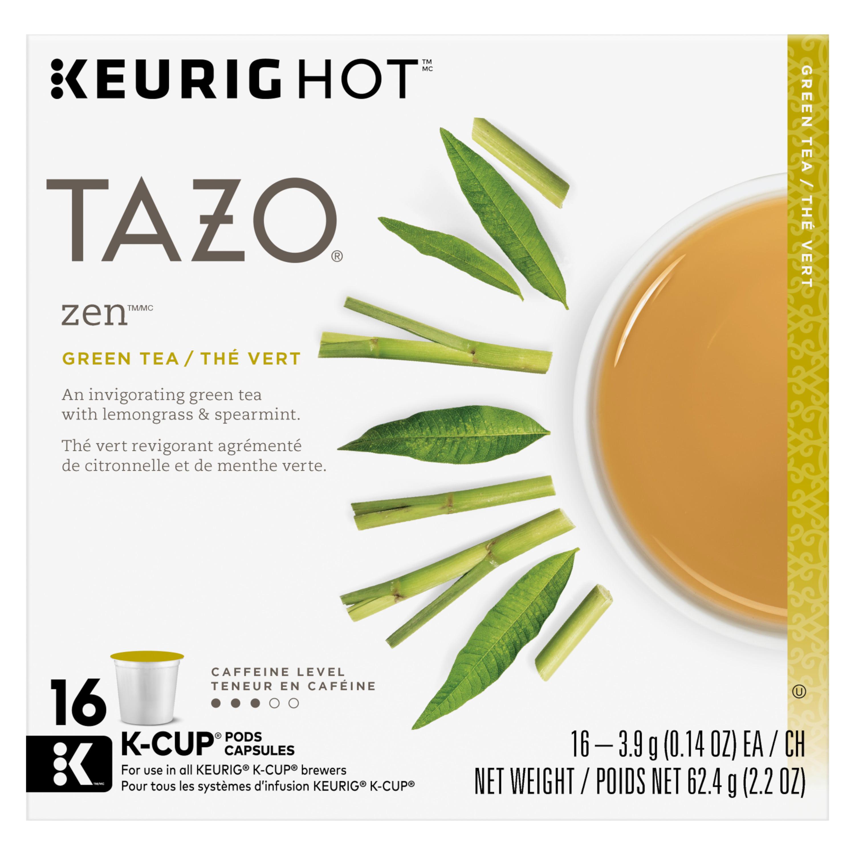 Tazo, Zen Green Tea K-Cup, Tea Pods, 16