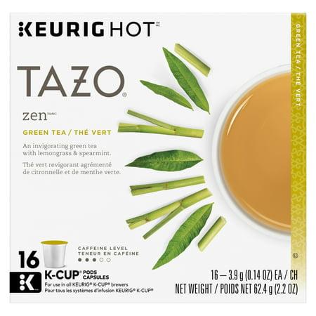Tazo Zen Green Tea K-Cup 16ct