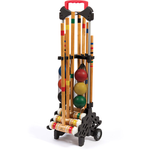 EastPoint Sports 6 Player Croquet Set with Storage Caddy