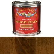 Danish Teak Oil Stain, 1/2 Pint