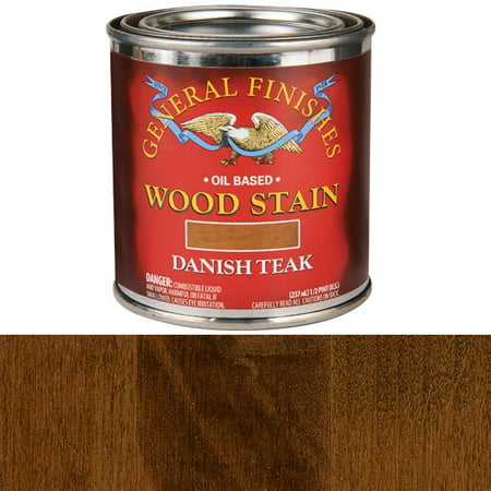 Danish Teak Oil Stain, 1/2 Pint ()