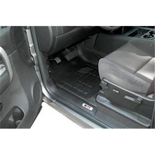 WESTIN 72110015 2007-2014 Toyota Sure-Fit Front Floor Mat - Black