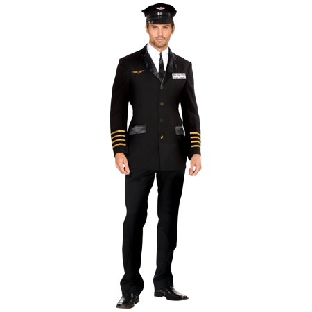 Cheap Pilot Costume (Men's Mile High Pilot Costume)
