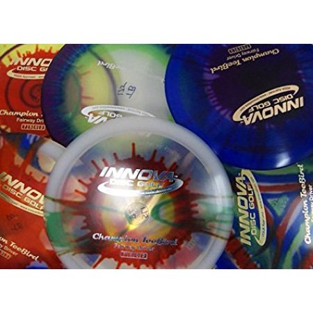 Champion I-dyed Teebird Disc Golf Disc - Set of 2, Speed: 7 Glide: 5 Turn: 0 Fade: 2 By Innova