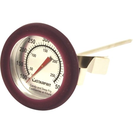Starfrit 093806 003 0000 Starfrit Candy And Deep Fry Thermometer   Celsius  Fahrenheit Reading   Dishwasher Safe  Durable   For Pot