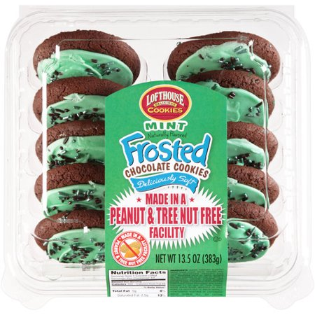 Lofthouse Delicious Cookies Mint Frosted Chocolate Cookies ...