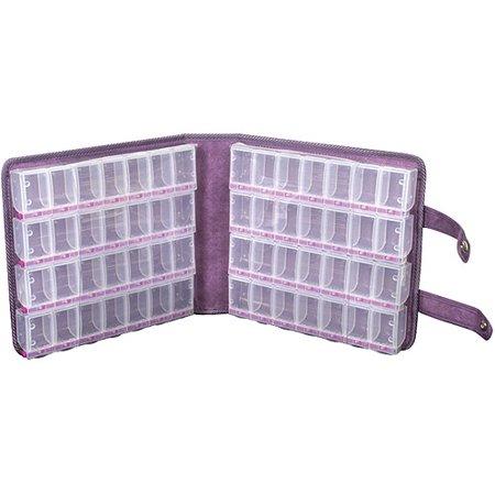 Craft Mates Lockables Large Purple Ultrasuede Organizer