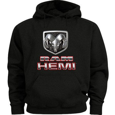 Doggie Sweatshirt - Dodge Ram Hemi Trucks Hoodie Men's Sweatshirt Black