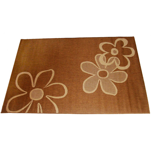 Geo Crafts, Inc Daisy Beige Indoor/Outdoor Rug