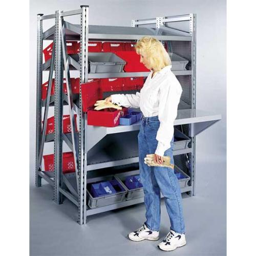 SSI SCHAEFER ZB71222GG Extra Shelf,48 D x 48 In.W