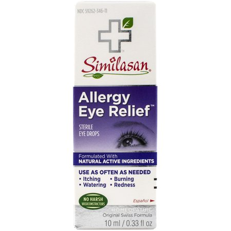 Allergy Relief Eye Drops (Similasan Allergy Eye Relief Sterile Eye Drops, 0.33 fl oz )