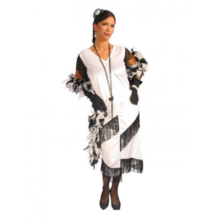 Alexanders Costumes 27-271-W Chicago Babe, White - - Costume Store Chicago