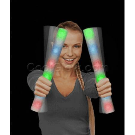 Fun Central Z553 LED Foam Stick Baton Supreme - Rainbow (Led Foam Sticks)