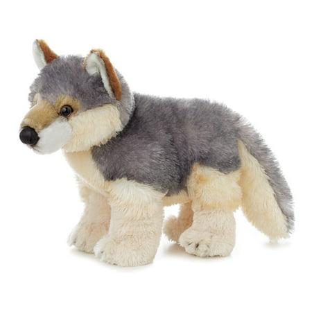 Aurora Wolf Plush Flopsie 12