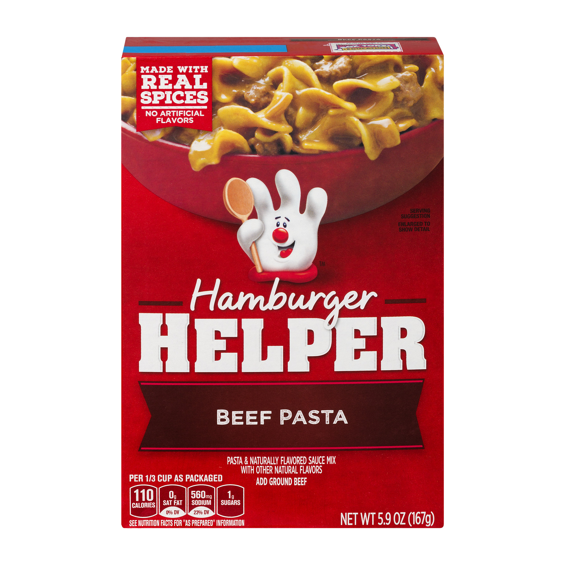 Betty Crocker® Hamburger Helper Beef Pasta 5.9 oz Box