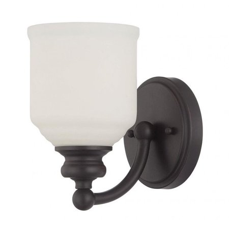 Savoy House Melrose 1 Light Sconce in English Bronze