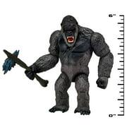 """Godzilla vs. Kong 6"""" Basic Kong with Battle-Axe Figure"""