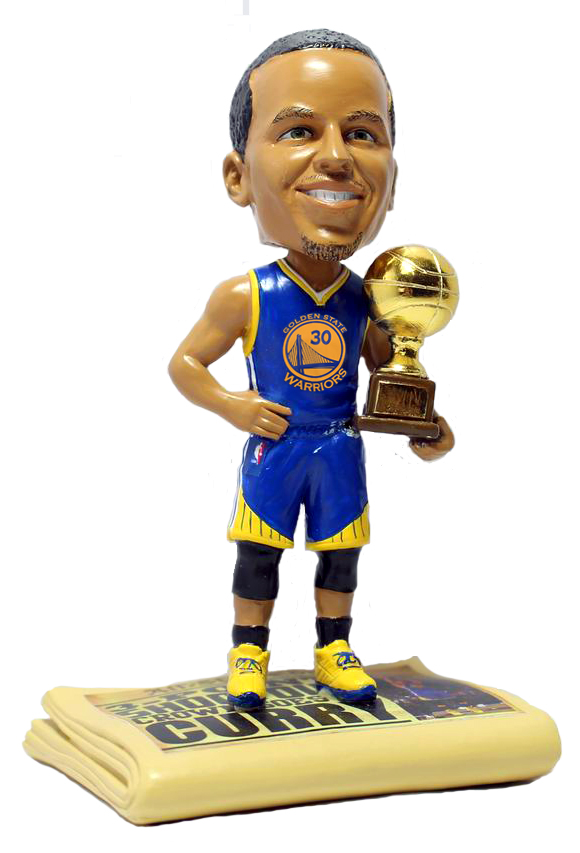 Stephen Curry Golden State Warriors 3 Point Champion 5 Inch Bobblehead NBA