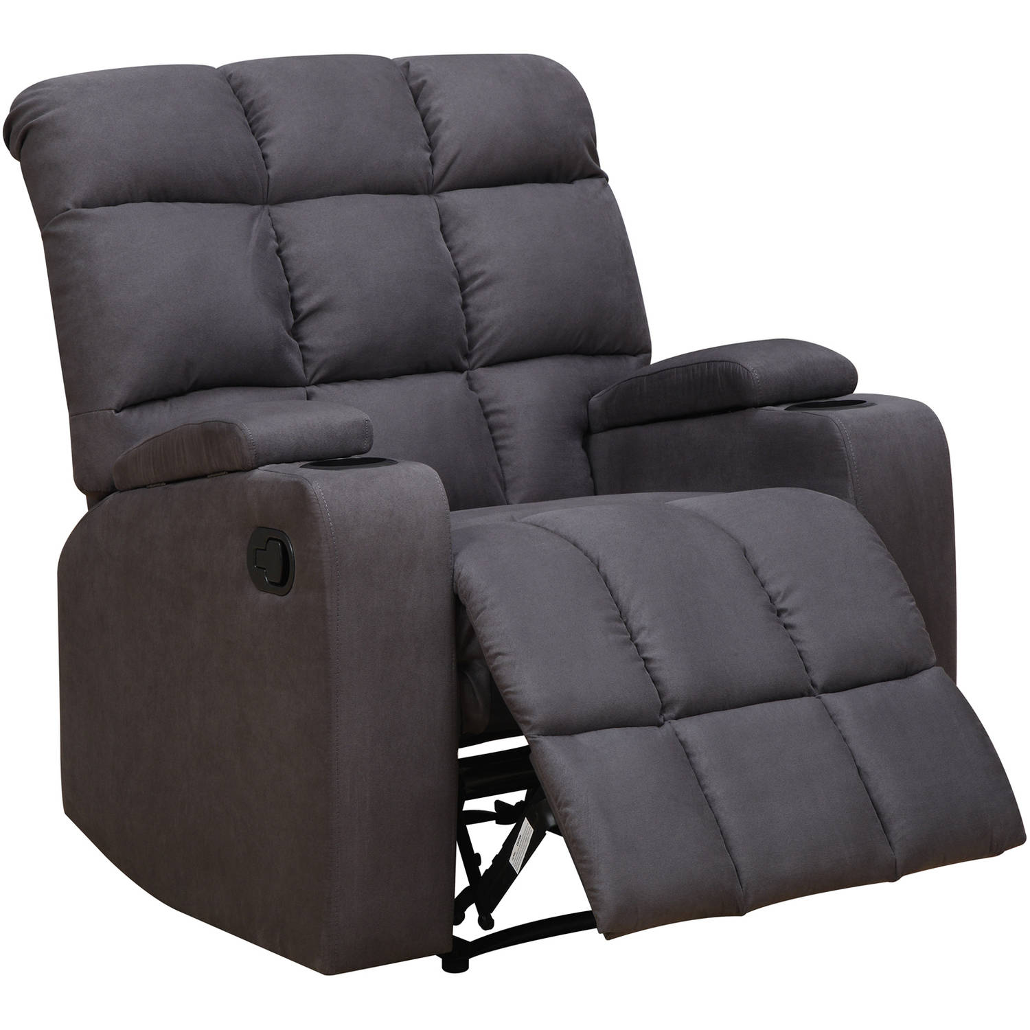 ProLounger Storage Arm Wall Hugger Microfiber Recliner Multiple Colors Set of 2 - Walmart.com  sc 1 st  Walmart & ProLounger Storage Arm Wall Hugger Microfiber Recliner Multiple ... islam-shia.org