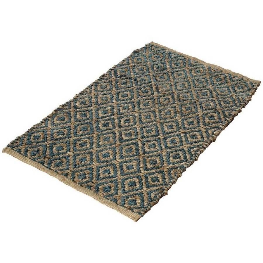Better Homes and Gardens Blue Diamond Natural Jute Accent Rug by Chesapeake