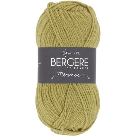 Malabrigo Merino Yarn - Bergere De France Merinos 4 Yarn-Fougere