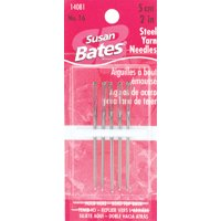 "Bates Steel Yarn Needles 2""-Size 16 5/Pkg"