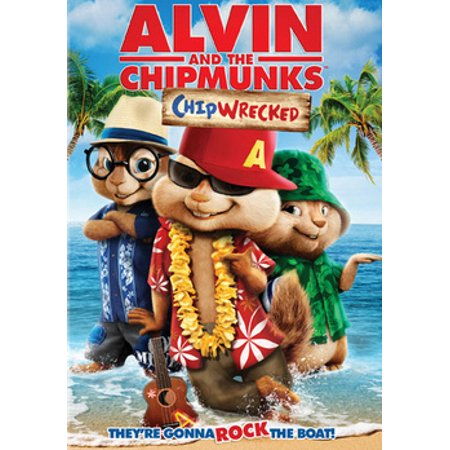 Alvin and the Chipmunks: Chipwrecked (DVD)