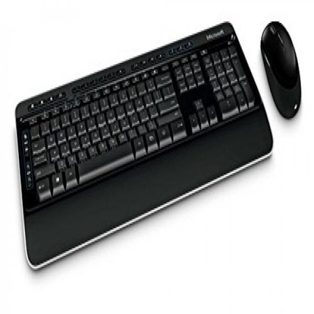 microsoft desktop 3000 wireless keyboard and mouse (White Microsoft Keyboard)