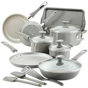 Rachael Ray 15 Pc Get Cooking! Aluminum Nonstick Cookware Set
