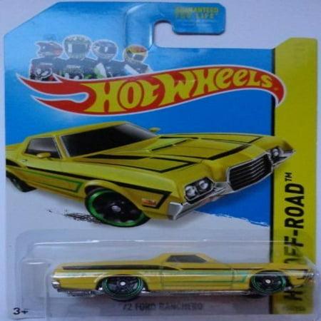 2014 Hot Wheels 72' Ford Ranchero Yellow 134/250 HW Off-Road HW Hot (Best Off Road Wheel Brands)