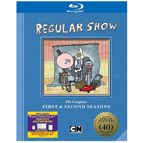 CARTOON NETWORK-REGULAR SHOW SEASON 1 & 2 (BLU-RAY/FF/2 DISC)