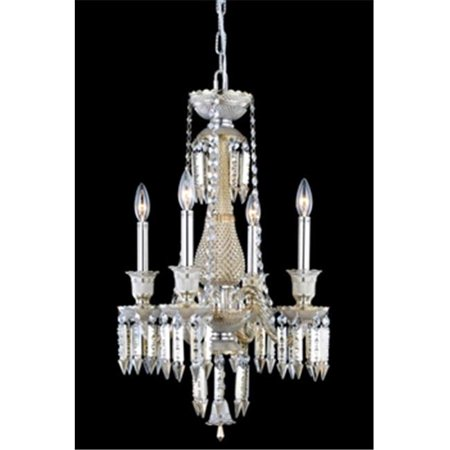 8904D17GT-GT-EC 17 Dia. x 24 H in. Majestic Collection Hanging Fixture - Golden Teak Finish, Elegant Cut - image 1 of 1