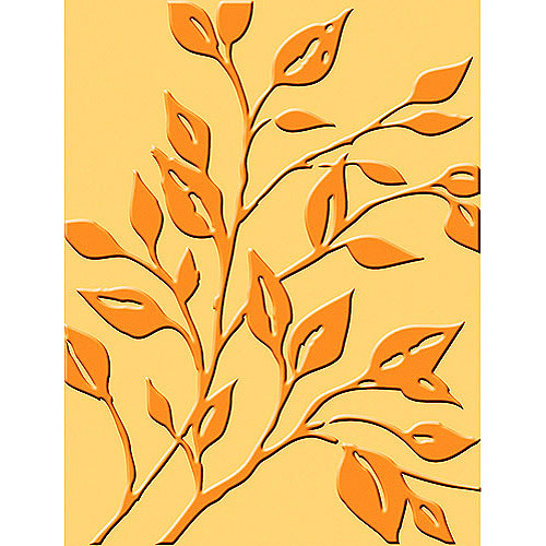 Cuttlebug A2 Embossing Leafy Branch Folder