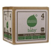 Seventh Generation Baby Free & Clear Stage 4 Diapers (44080)