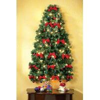 Christmas Lighted Wall Tree