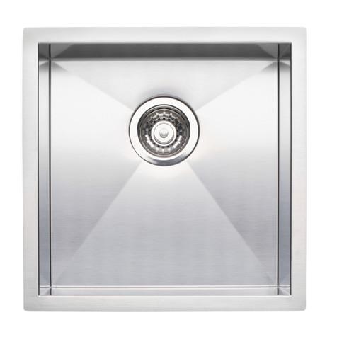 Blanco 515637 Precision Bar Sink Single Bowl Undermount, Stainless steel