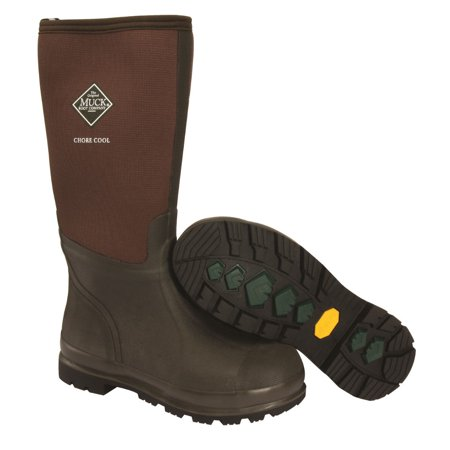 Muck Boot 190971 Chore Cool High Work Boots, Brown, Size 11-12 (High Hill Work Boots)