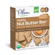 Plum Organics Mighty Nut Butter Bar Peanut Butter (Pack of 5)