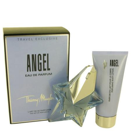 d7d8ee743cd7 ANGEL by Thierry Mugler Gift Set -- 1.7 oz Eau De Parfum Star Spray  Refillable