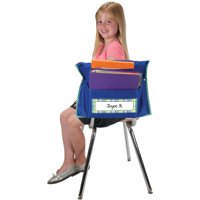 Store More® Dual Storage Deep-Pocket Chair Pockets - Navy