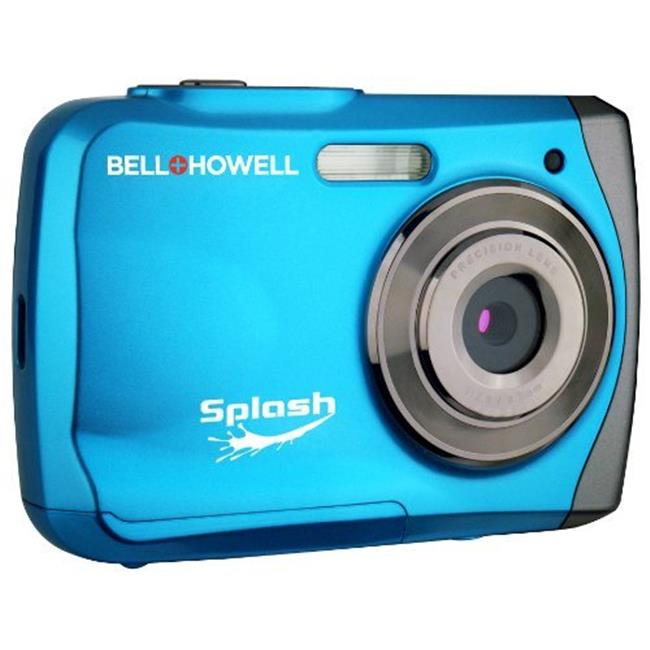 Bell+howell WP7-BL 12.0 Megapixel Wp7 Splash Underwater Digital Camera -blue