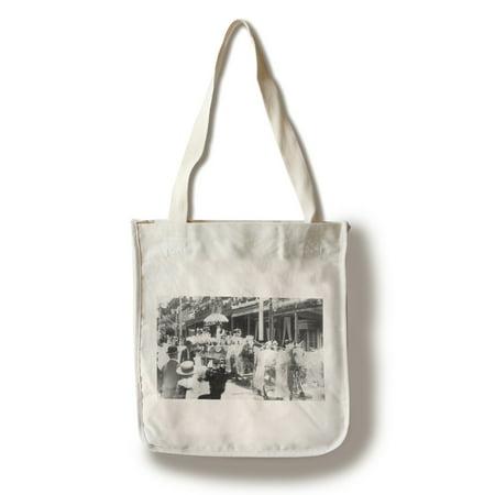 Virginia City, Nevada - The Good Ol Days, Horse Drawn Carriage (100% Cotton Tote Bag - Reusable) (Halloween Virginia City Nevada)