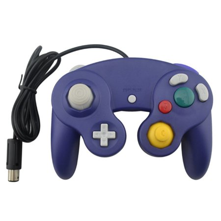 Generic Nintendo Gamecube Compatible Controller Purple (Gamecube Arcade Games)