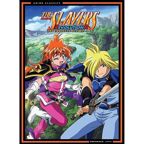 The Slayers: Revolution-R - The Complete Seasons 4 And 5 (Japanese)